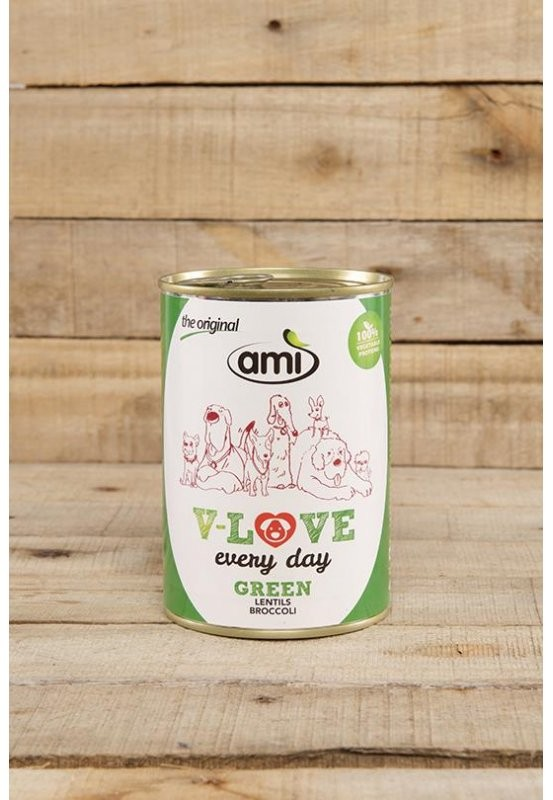 Ami Dog Love Every Day Linse-Brokkoli - 400 g veganes...